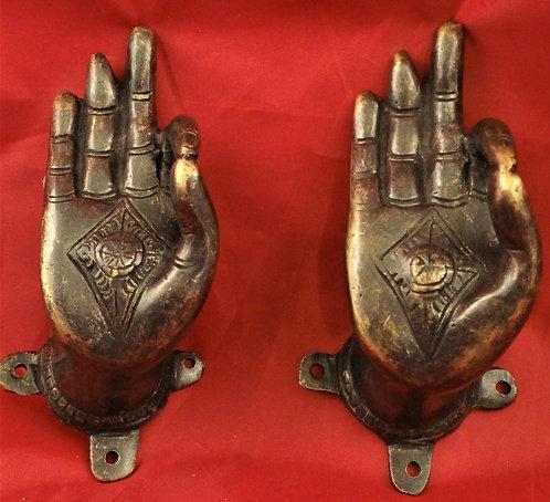 Hand of Buddha Door Handles