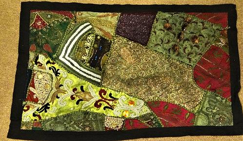 Anjali: Small Zardozi Wedding Festival Quilt
