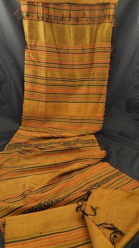Ratanaporn: Brocade  Thai Silk Scarf