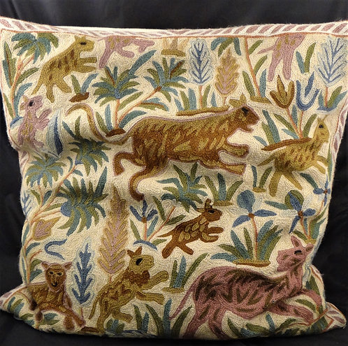 Kashida Jungle Creature Pillow Covers