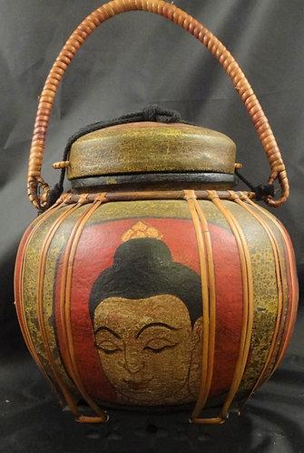 Four Face Buddha Basket