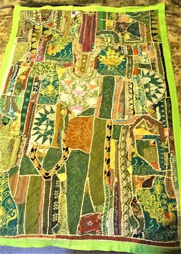 Rihana: Zardozi Wedding Festival Quilt