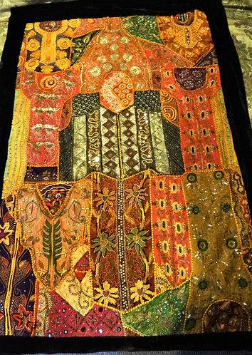 Meera: Zardozi Wedding Festival Quilt