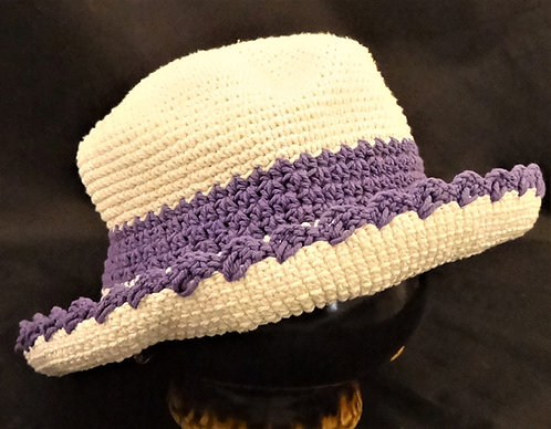 Thai Crocheted Banded Hat