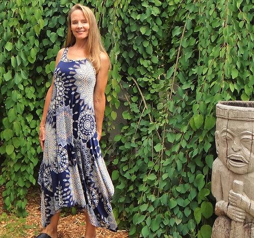 Madalion Midi Dress: Papillon