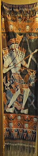 Hunter with Ancestor Sumba Ikat