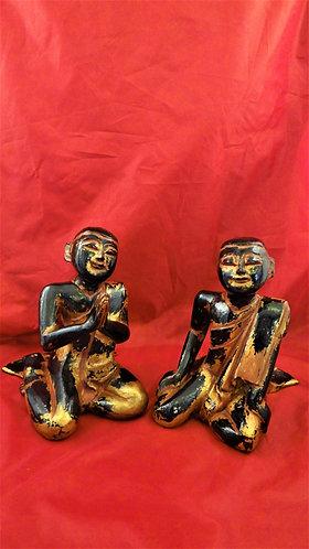 Moggallana & Sariputta: Pair