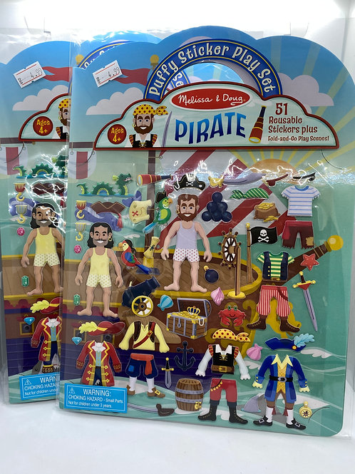 M&D PUFFY PIRATE PLAY SET