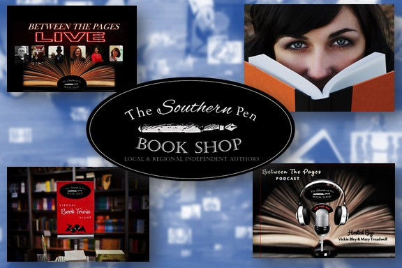 The Southern Pen Bookshop is keeping our authors connected with their readers virtually.