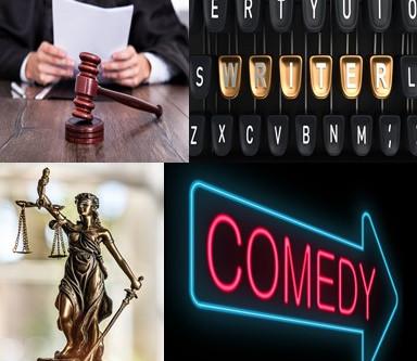 A Lawyer, A Judge, A Writer, & A Comedian