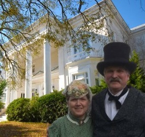 Julie and Rick Clarke Brings History to Life