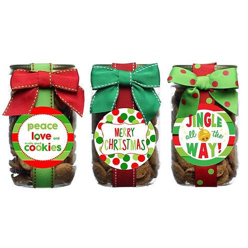 CHOCOLATE CHIP COOKIES PINT JARS