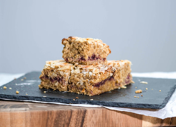 Almond Bakewell Flapjack
