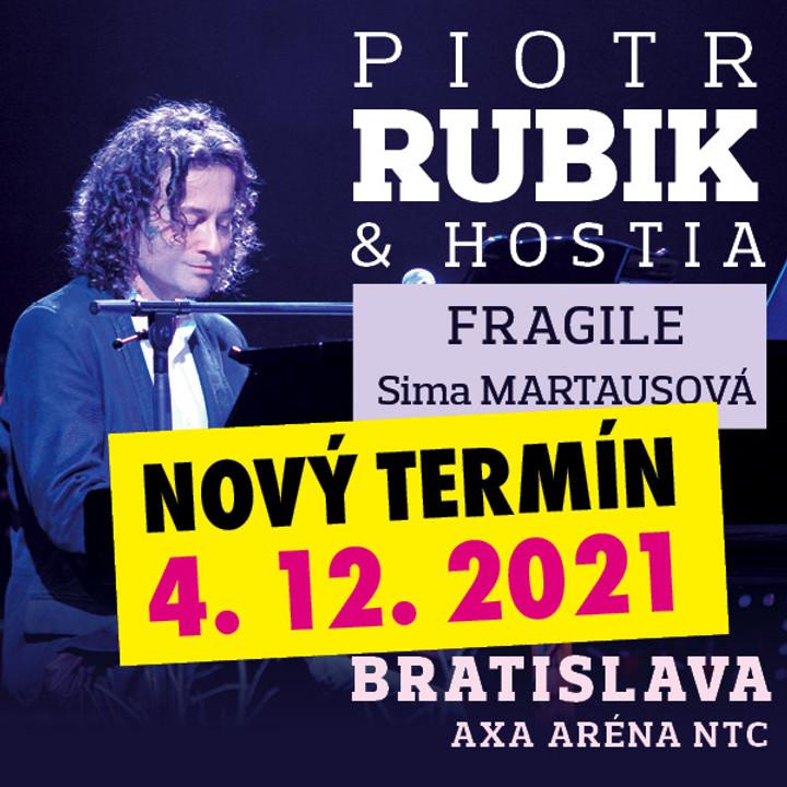 Piotr RUBIK & Hostia | Bratislava