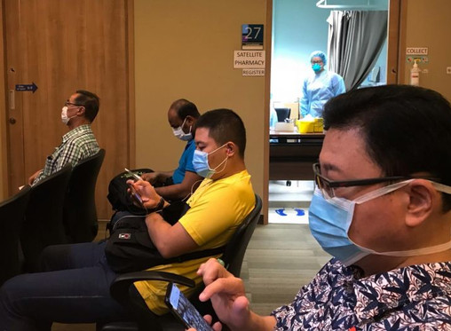 Patients at 6 polyclinics who test negative for coronavirus will get results by SMS