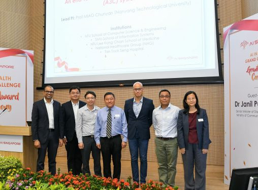 AI projects shortlisted to solve a major healthcare issue in Singapore