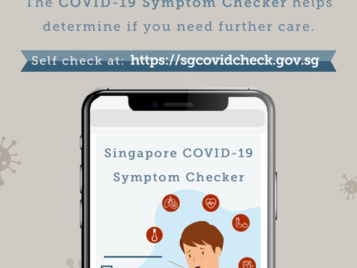 COVID-19 Symptom Checker launched to inform and help the Singapore public navigate care options