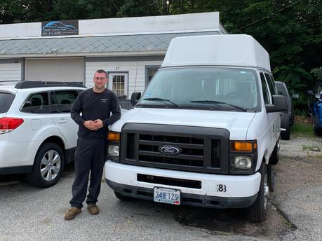 Repairing vandalized vans — and faith in mankind