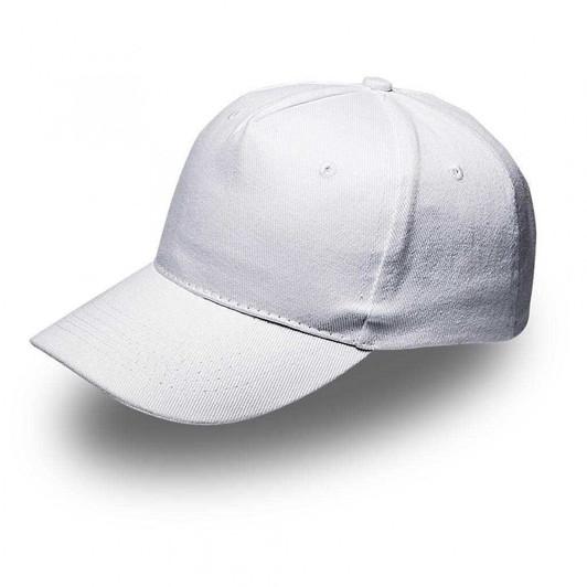 White 5Panel Cap