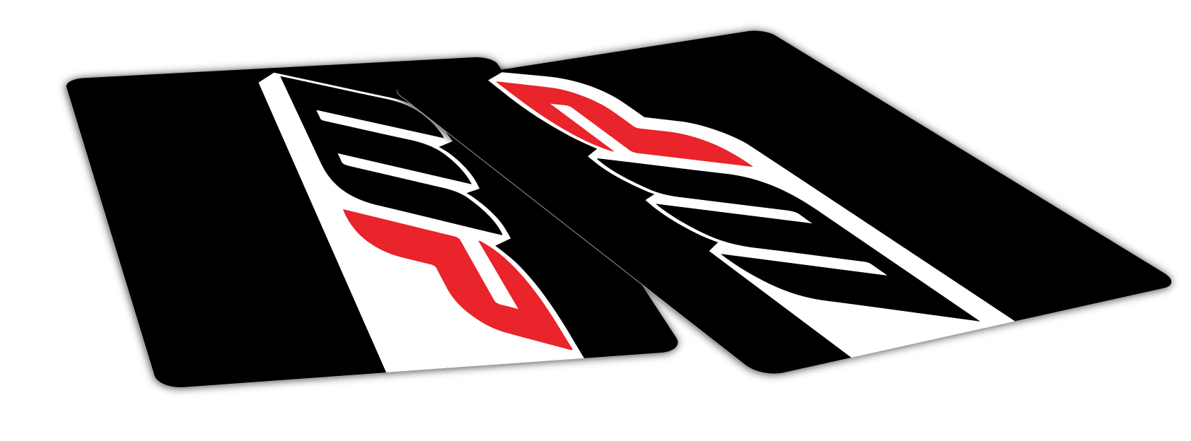 Solid Colour Fork Decals
