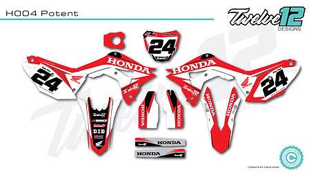 Honda Custom Decals