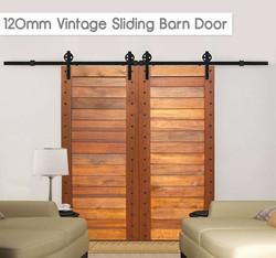 120mm Vintage Sliding Barn Door Kit