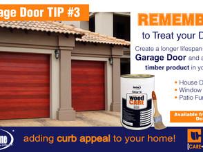 How to treat your Timber Garage Door