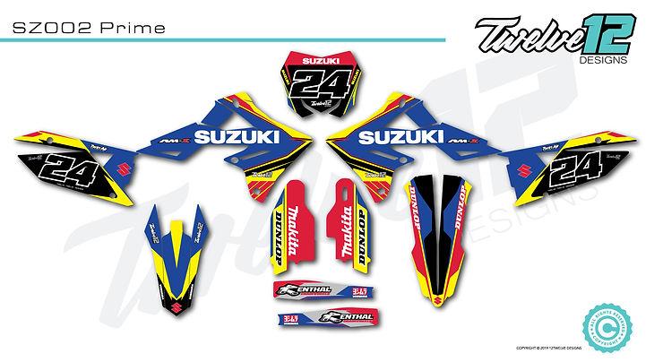 Suzuki Semi Custom Design