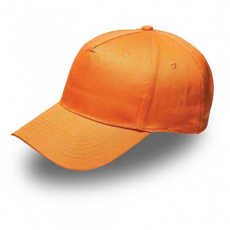 Orange 5Panel Cap