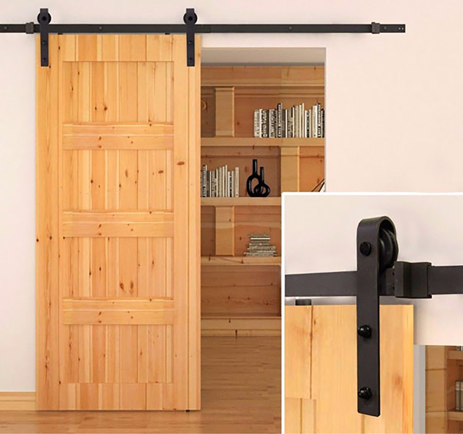 70mm Classic Sliding Barn Door Kit
