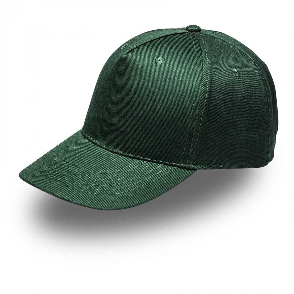 Bottle Green 5Panel Cap