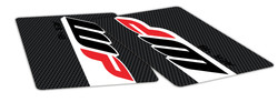 Carbon Fibre Look Fork Decals