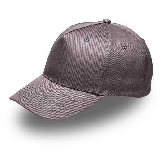 Grey 5Panel Cap