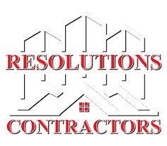 Reolutions Contractors logo roofing company