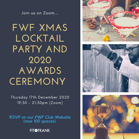 FWF Club 2020 Awards Ceremony & Xmas Locktail Party