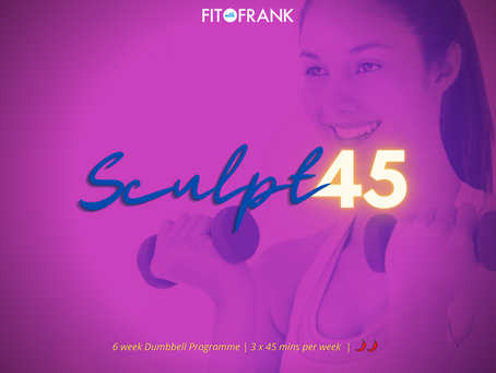 Everything you need to know about our NEW 'Sculpt 45' Workout Plan