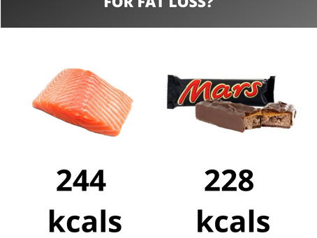 How important are calories for weight loss?