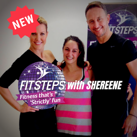 NEW: Fit Steps Dance Class Tuesdays @ 6pm with Shereene (LIVE ONLY - NO REPLAY OPTION)