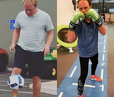 Soccer AM's Tubes Loses 2 Stone After Quitting Alcohol And Getting Fit with Frank