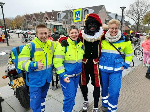 Sint veilig aangekomen in Eemnes
