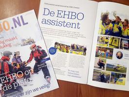 Oranje Kruismagazine schrijft over EHBO-assistent Remon