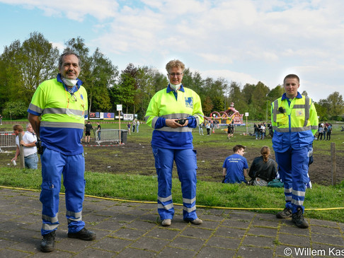 Hulpverlening bij evenementen komt weer op gang