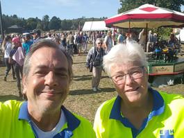 Eemnesser hulpverleners steunen EHBO Huizen op werkpaarddag Blaricum