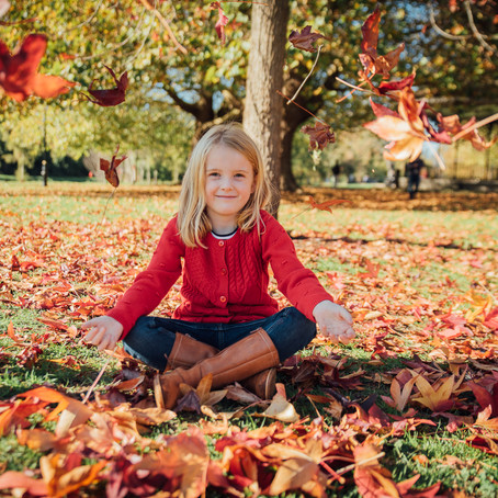 Six top tips for great autumn family photography!