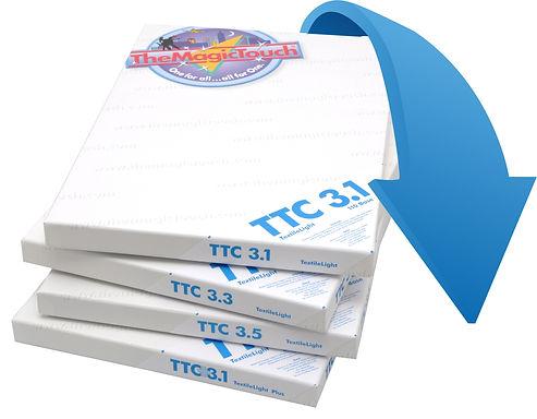Beyaz veya açık renkli tekstil ürünlerine renkli lazer yazıcı ve fotokopi makineleriyle renkli baskı yapmanızı sağlayan transfer kağıdıdır.