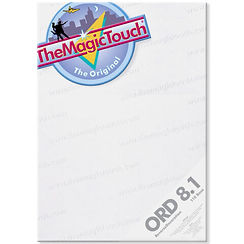 ORD 8.1 themagictouch cam ve akrilik transfer kağıtları
