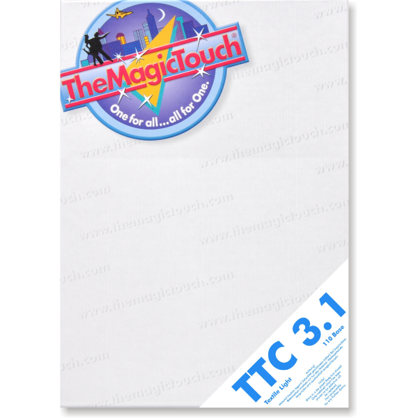 TTC 3.1  TheMagicTouch Açık Zemin Tekstil Transfer Kağıdı