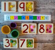 T2307 Number Bonds to ten Numberline ins