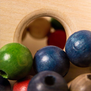 Maze Balls - close up