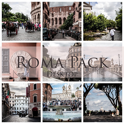 Roxane Fréché Roma Lightroom Desktop Presets Pack